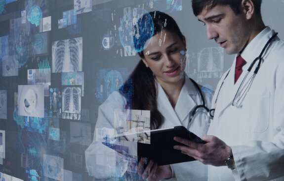 doctors working on Digital Healthcare solutions