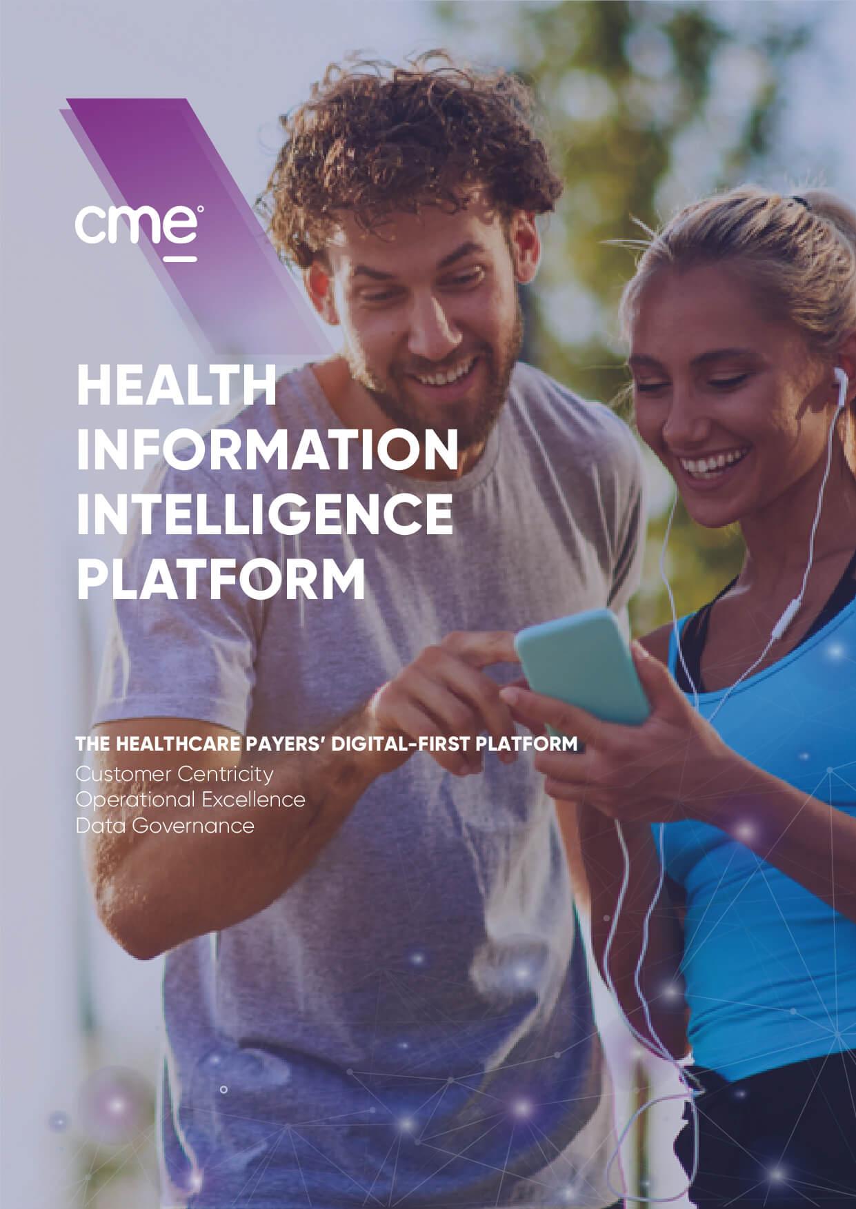 Healthcare Information Intelligence Program for insurance companies