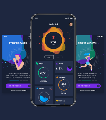 Ingo Health application for insurance healthcare gamification